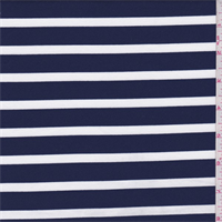 *3 YD PC--Navy/White Stripe Activewear