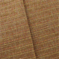 *4 YD PC--Orange/Multi Tweed Look Home Decorating Fabric