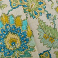 *2 YD PC--Ivory/Multi Covington Floral Print Home Decorating Fabric