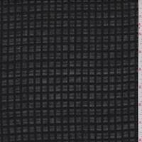 *1 YD PC--Black Windowpane Check Cotton Lawn