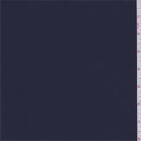*2 5/8 YD PC--Dark Navy Polyester Crepe
