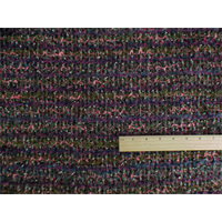 *7/8 YD PC--Multi Wool Blend Novelty Textured Sweater Knit