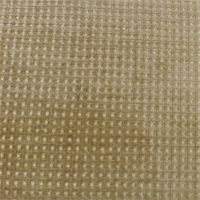 *3 YD PC--Merrimac Golden Beige Gridlock Chenille Upholstery Fabric
