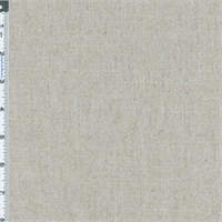 *6 YD PC--Grey Pearl Slub Linen Home Decorating Fabric