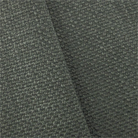*4 YD PC--Cool Stone Grey Textured Basket Weave Home Decorating Fabric