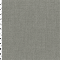 *2 YD PC--Heathered Gray Wool Gabardine