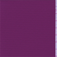 *1/2 YD PC--Crushed Berry Pique Novelty Activewear