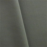*1 1/8 YD PC--Stone Grey Wool Blend Double Crepe