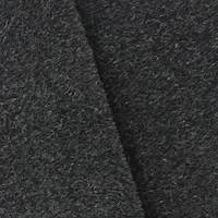 Black Wool Brushed Coating