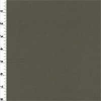 *1 1/8 YD PC--Gray Wool Crepe Suiting