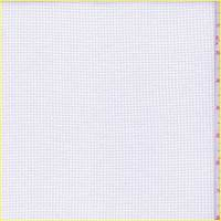 *5 YD PC--White Polyester Thermal Knit
