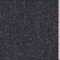 *2 3/4 YD PC--Heather Charcoal Wool Jacketing