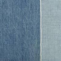 *1 YD PC--Blue Acid Wash Cotton Japanese Selvedge Denim