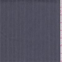 *4 1/2 YD PC--Steel Grey Stripe Denim Look Suiting