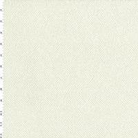 Powder White/Ivory Herringbone Home Decorating Fabric