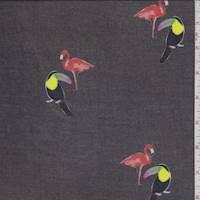 Driftwood Flamingo/Toucan Chiffon