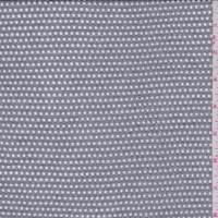 Silver Grey Rayon Mesh Knit