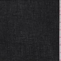 Black Cotton Crinkle Gauze