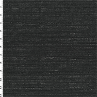 *6 YD PC--Charcoal Gray/Black Dobby Home Decorating Fabric