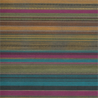 *4 YD PC--Designer Multicolor Festival Pretty Fine Stripe Home Decorating Fabric