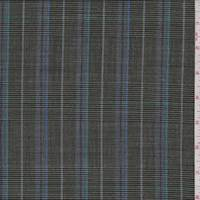 *4 YD PC--Olive Plaid Wool Suiting