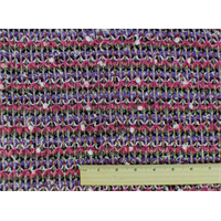 *2 YD PC--Multi Wool Blend Novelty Textured Sweater Knit