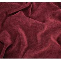 *3 YD PC--Royal Red Faux Velvet Chenille Home Decorating Fabric