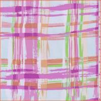 *1 YD PC--White/Pale Blue/Pink Plaid Challis
