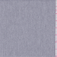 *1/2 YD PC--Soft Grey Thermal Rib Knit