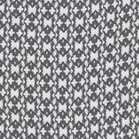 *3 3/4 YD PC--Black/Ivory Print Challis
