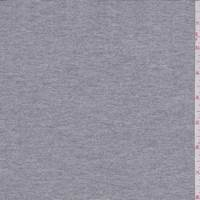 Grey Micro Stripe Double Knit