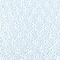 White Diamond Trellis Crochet Lace