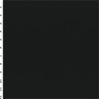 *3 YD PC--Black Wool/Silk Napped Gabardine