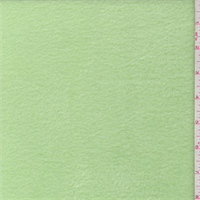 *1 1/8 YD PC--Pastel Green Polyester Fleece