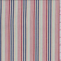 Multi Stripe Cotton Shirting