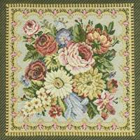 Pink/Ivory/Multi Floral Tapestry Home Decorating Fabric