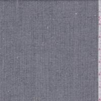 *1/2 YD PC--Smoke Wool Blend Suiting