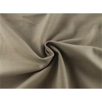 *7/8 YD PC--Almond Gray Gabardine Flannel