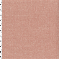 *3 YD PC--Coral Pink Wool Twill