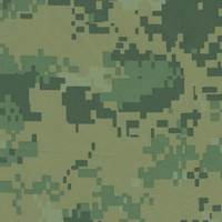 *1 1/2 YD PC--Green Taslon Camo