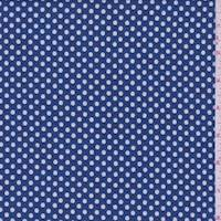 Medium Blue Dot Jacquard