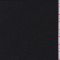 *1 YD PC--Black Wool Textured Momie Jacketing