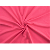 *2 3/8 YD PC--Hot Pink Jersey Knit