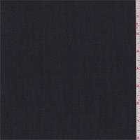 *4 1/4 YD PC--Black/Steel Grey Polyester Suiting
