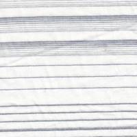 *3 YD PC--White/Blue Striped Lawn