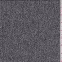 Black/White Tweed Wool Suiting