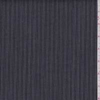 Dark Grey/Black Stripe Stretch Denim