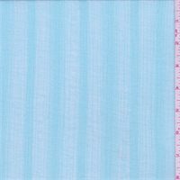*1 YD PC--Seafoam Blue Stripe Cotton Gauze