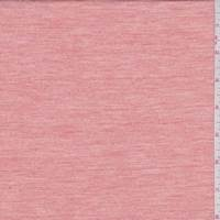 *1 5/8 YD PC--Heather Peach Slubbed Jersey Knit