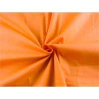 *1 1/4 YD PC--Citrus Orange Cotton Blend Shirting